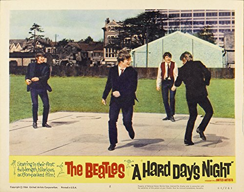 The Beatles A Hard Days Night Lobby Card Movie Poster Replica 11 X 14