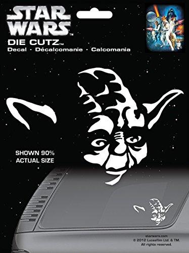 CHROMA 3943 Star Wars Yoda Die Cutz Decal Die Cutz Car Decal