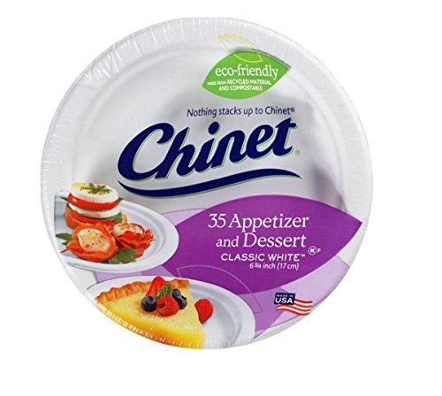 Chinet Classic Dessert Appetizer Plates