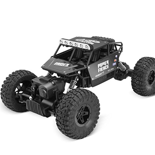 1:14 High Speed Remote Control RC Rock Crawler Racing Car Off Road Truck 2.4Ghz (Black) by ABASSKY