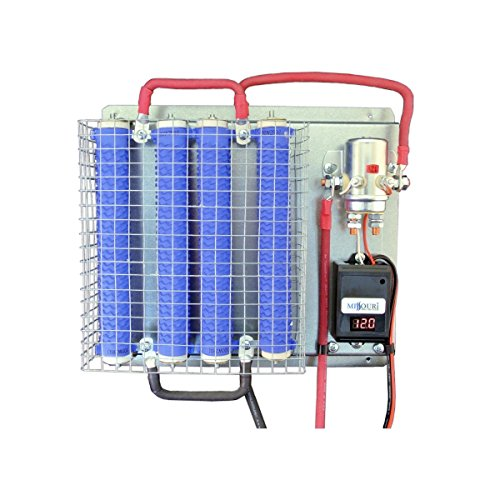 12 Volt Wind and Solar Charge Controller w/ LED Display & 1200 Watt Divert Load by Missouri Wind and Solar