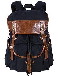 Leaper Canvas Drawstring Backpack School Backpacks
