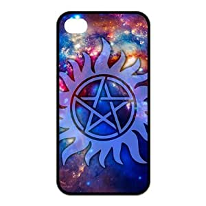 FEEL.Q- Unique Custom TPU Rubber iPhone 4/4S Case Cover - Supernatural