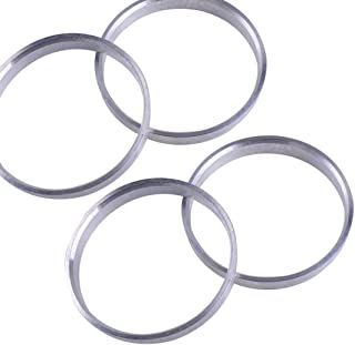 A Set of Hub Centric Rings 66.56x75mm