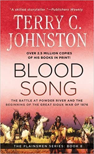 by Johnston, Terry C. Blood Song (Plainsmen) (2012) Mass Market