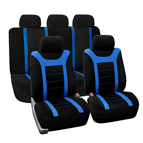 universal seat covers blue - 4