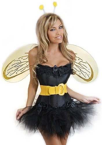 Daisy Corsets 5 PC Sexy Bumblebee Costume