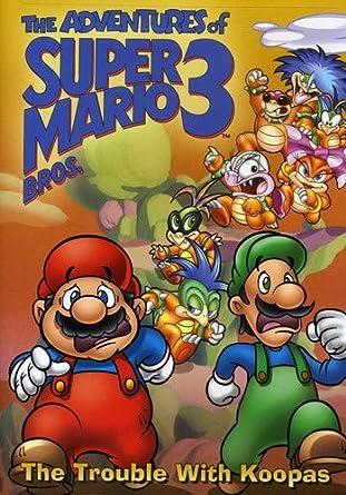 Amazon Com Adventures Of Super Mario Brothers Iii The