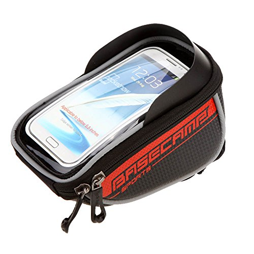 "BaseCamp Mountain Road MTB Bike Bicycle Front Top Frame Handlebar Bag Cycling Pouch Touchable for 5.5"" Inch Cellphone"