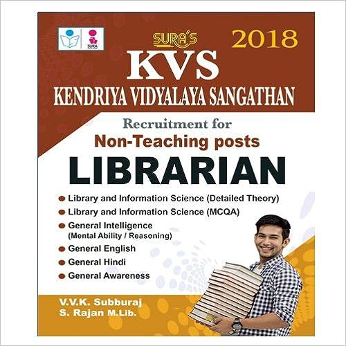 KVS Librarian Exam Guide (English Language)