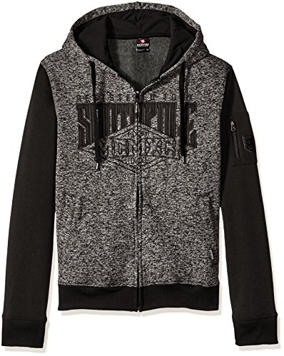 Southpole Sleeve Hooded Marled Applique