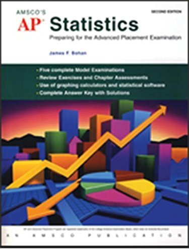 AP Statistics: Preparing for the Advanced Placement Examination Paperback October 1, 2006