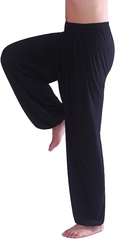 Pilates Pantaloni HOEREV Donna Super soft Odal Spandex Harem Yoga