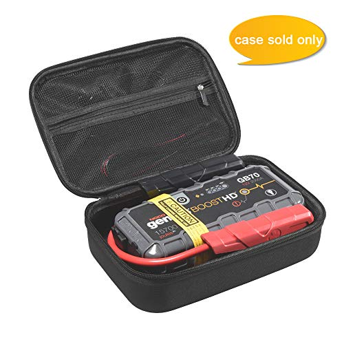 Aproca Hard Storage Travel Case Compatible with Noco Boost HD GB70 2000 Amp 12V UltraSafe Lithium Jump Starter