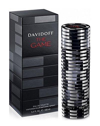Davidoff The Game Eau de Toilette Spray for Men, 3.4 ()