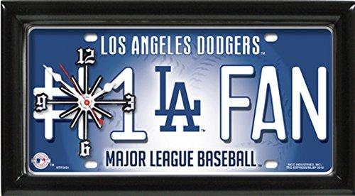 LA Dodgers # 1 Fan Clock by GTEI ()
