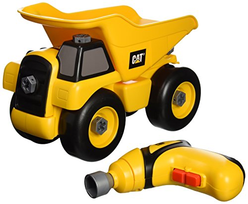 Toysmith Caterpillar Take Part Truck