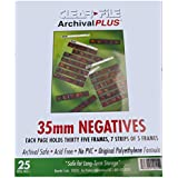 ClearFile Archival Classic ~ 35mm Neg, 25 Pack