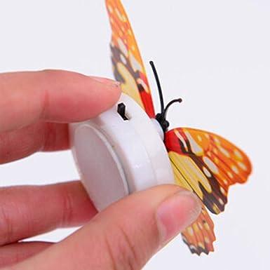 Amazon.com: Chiak 3D mariposa colorido cambiante LED luz de ...