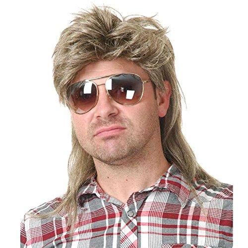 MyPartyShirt Joe Dirt Mullet Wig -