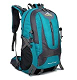 Specifications:  ▶ Item type: Hiking Backpack / Trekking Bag ▶ Gender: Unisex ( Adult, Teenager)  ▶ Material: Water-resistant, rip-stop Nylon  ▶ Capacity: 40L  ▶ Size: 12.6 * 21.6* 8.3 inches ▶ Package Included: 1 x Outdoor Backpack    Organized Com...