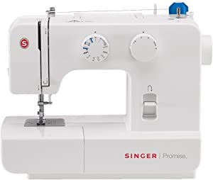 Singer Mechanical Sewing Machine, White