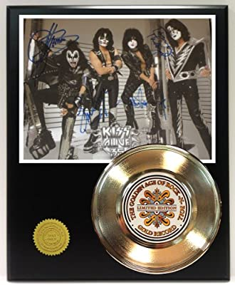 Kiss Gold Record Signature Series LTD Edition Display