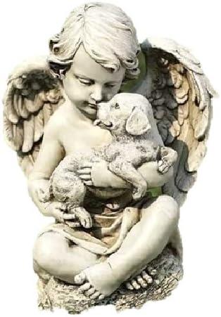 Roman Inc Cherub with Dove Statue