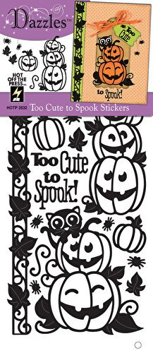 Hot Off The Press - Too Cute to Spook Dazzles Stickers (Hot Off Press)