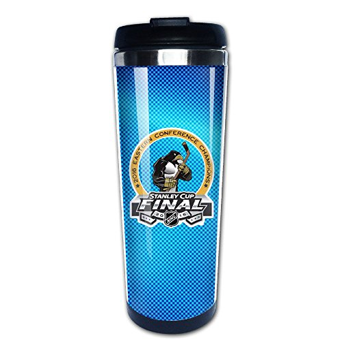 Personalized Champions Pittsburgh Hockey 2016 Travel Coffee Mug Bottle