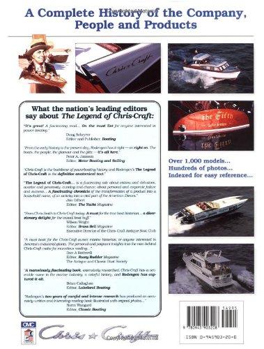 The Legend of Chris-Craft: Jeffrey L  Rodengen: 9780945903208