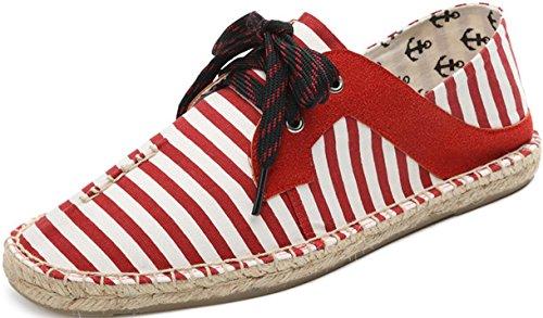 Scarpe Di Tela Satuki Per Uomo, Scarpe Classiche Casual Allacciate Leggere Sneakers Da Atletica Leggera D