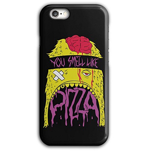 Smell Pizza Zombie Dead Hungry NEW Black 3D iPhone 6 Plus / 6S Plus Case | Wellcoda (Zombie Pizza)
