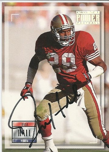 (1993, Dana Hall, San Francisco 49ers, Signed, Autographed, Pro Set Football Card, Card # 48, a COA Will Be Included)