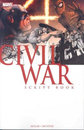 Civil War Script Book (Marvel Comics)