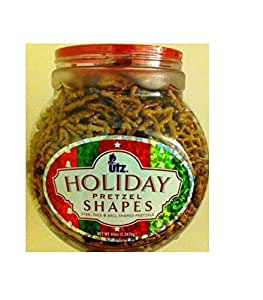 UTZ Holiday Pretzels. Star, Tree & Bell shaped Holiday Pretzels. | UTZ | 44oz