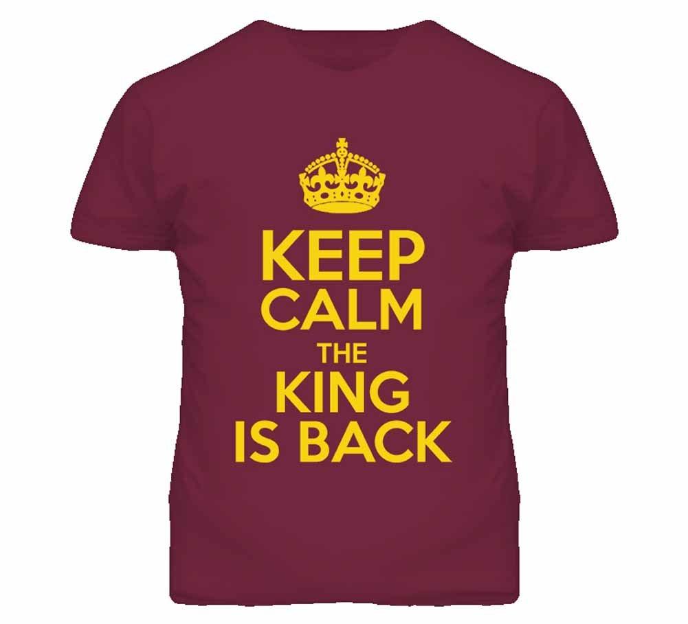 Tshirt Bandits S Keep Calm The King Is Back Tshirt