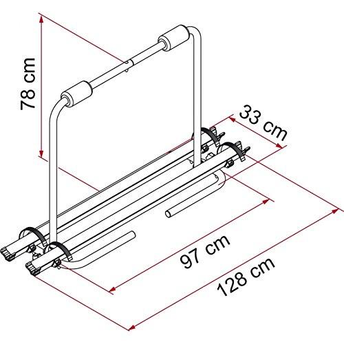 Fiamma CarryBike XL A Porte-v/élos pour caravane