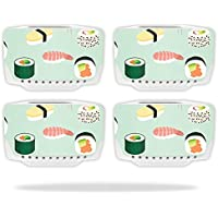 Skin For Blade Chroma Drone Battery (4 pack) – Sushi | MightySkins Protective, Durable, and Unique Vinyl Decal wrap cover | Easy To Apply, Remove, and Change Styles | Made in the USA