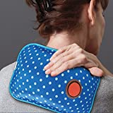 Rechargeable Hot Water Bottle - Great Aid For Muscle Pain - Heats In Minutes