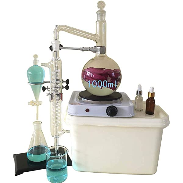 1000ML Kit de cristalería de laboratorio, Moonshine still ...