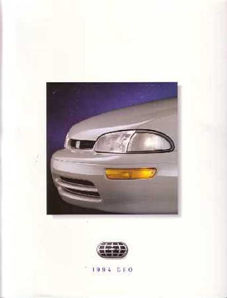 Amazon.com: 1994 Geo Metro Prisma Tracker ventas folleto ...
