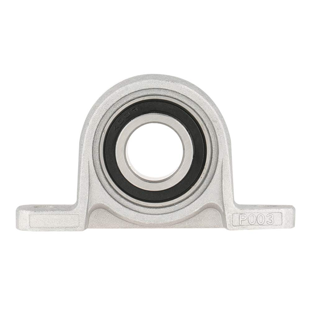 1Pc Zinc Alloy Mounted Pillow Block Bearing Accessories Mechanical Bearing Parts for Machine 17mm KP003