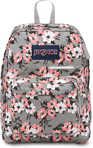JanSport Unisex Digibreak Coral Sparkle Pretty Posey One Siz