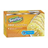 Swiffer New Value Size Package 360 Disposable Cleaning Dusters Refills, Jumbo Value Package 48 Refill Total