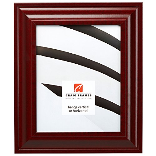 Craig Frames 76039 16 by 20-Inch Picture Frame, Smooth Wood Grain Finish, 2-Inch Wide, Cherry Red
