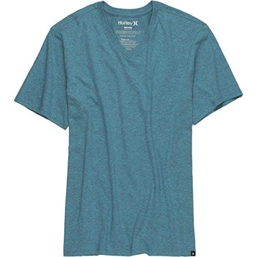 hurley-staple-v-neck-t-shirt-heather-beta-blue-xl