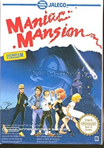 Maniac Mansion - Nintendo NES