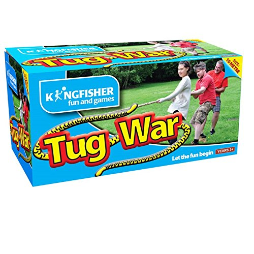 Kingfisher Outdoor Childrens Tug Of War Rope Game Set Bonningtons