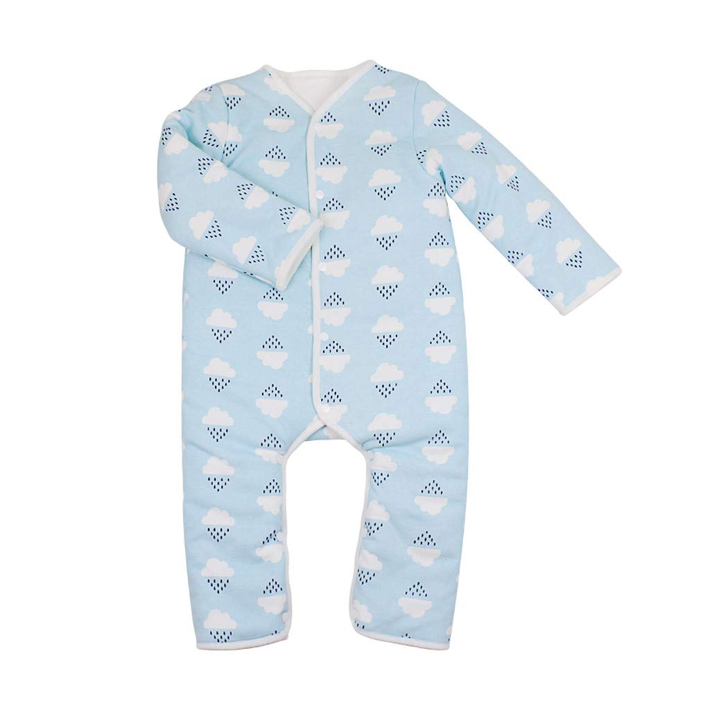 Gornorriss Baby Rompers Newborn Boby Clothes Infant Thick Climbing Romper Jumpsuit Outfit